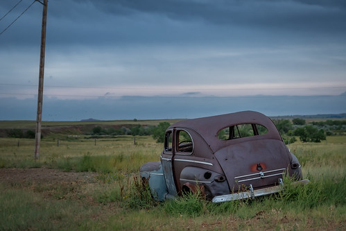 Abandoned Car (Conata, South Dakota)
