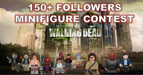 CREATE YOUR OWN WALKING DEAD MINIFIGURE 150+ FOLLOWER CONTEST( Ends Nov 12th)
