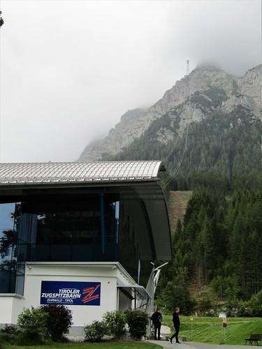 starting point Tiroler Zugspitzbahn
