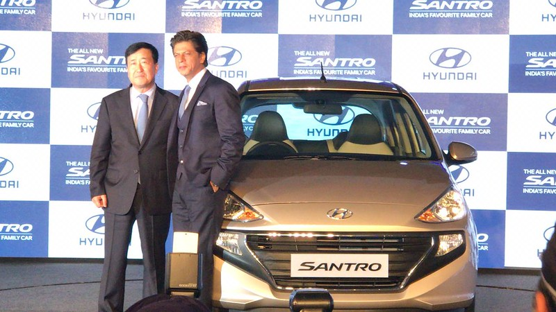 All New Hyundai Santro Launch