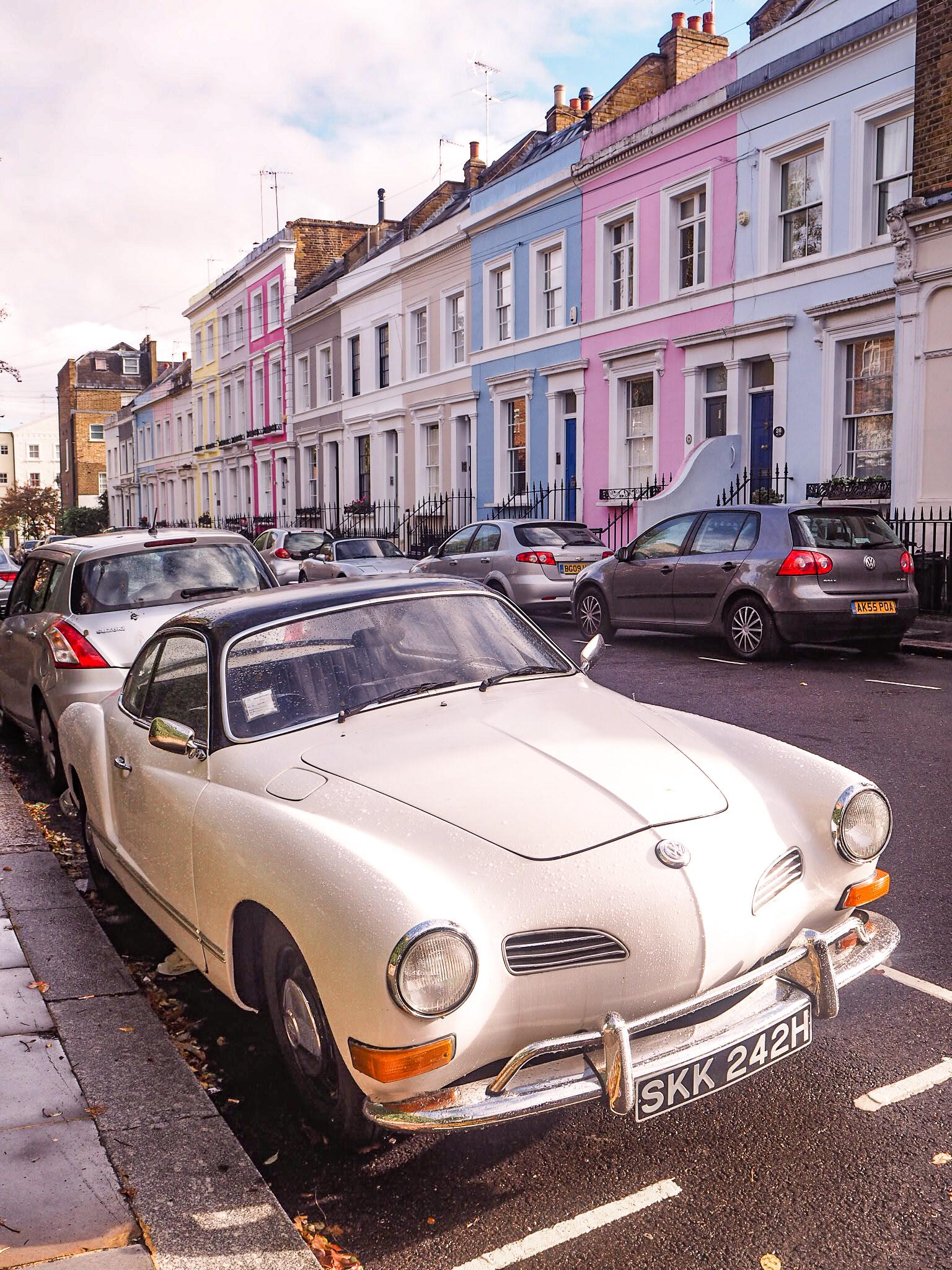 Notting Hill rakennukset