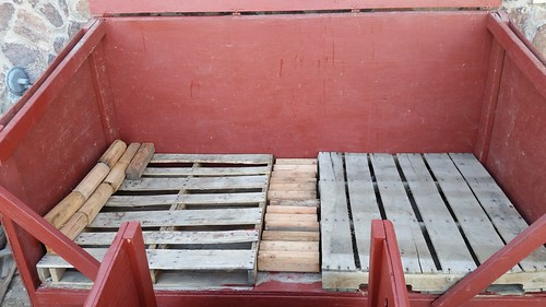 Pallets in Place