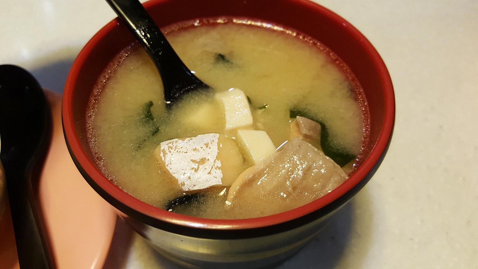 爭鮮 味噌湯