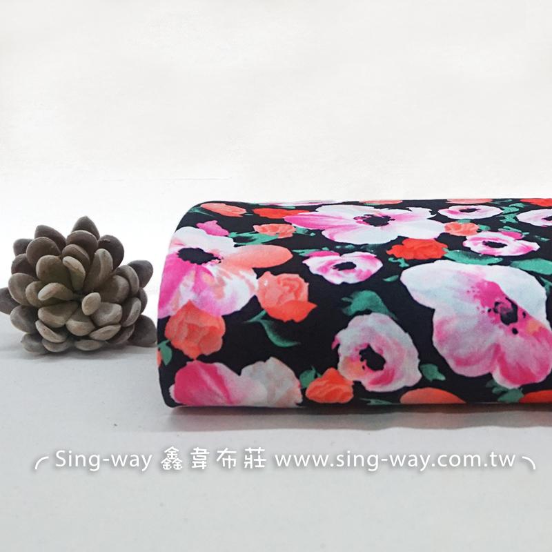 玫瑰 Rose 花朵 薔薇 美玉 夏季服裝布料 CH890251