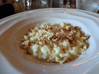 walnut and bleu cheese gnocchi @ AgriVino
