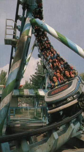 Katapult parque atracciones madrid