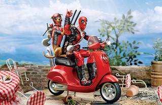 Hasbro Marvel Legends Series 6-inch-scale figures and vehicles Deadpool、Professor X Info Revealed!