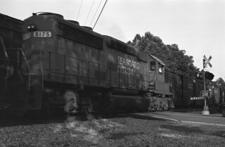 Passing Trains At Forest Glen