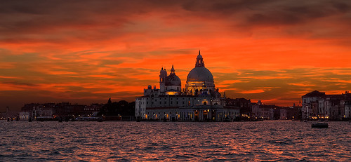Sunset in Venice _1