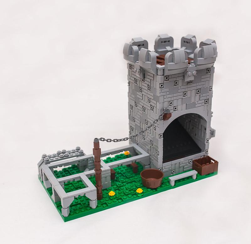 [LEGO Ideas]: Castle Desktop Organizer 43596146700_79f7e4bca8_c