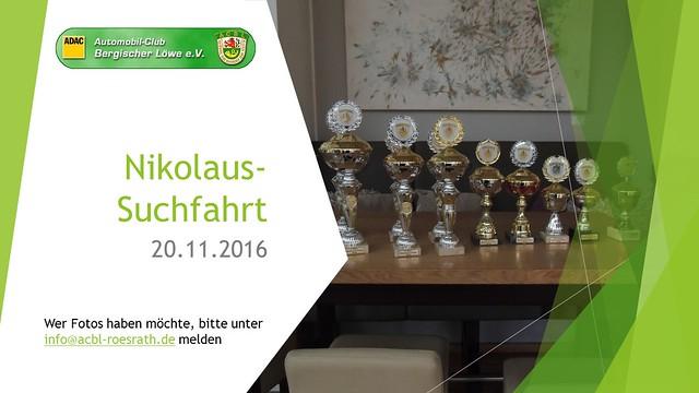 2016 Nikolaussuchfahrt
