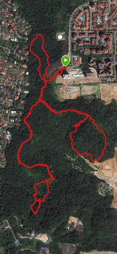 Gasing training trail