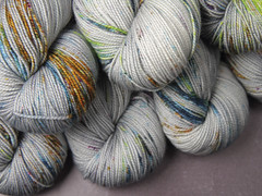 Speckled yarn