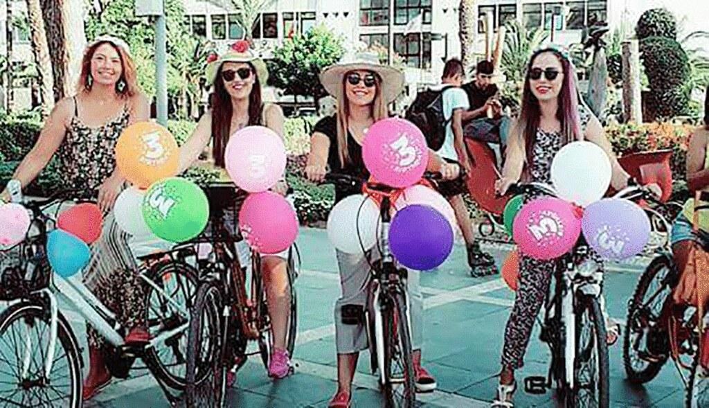 Hafta sonu 'Süslü Kadınlar Bisiklet Turu' var