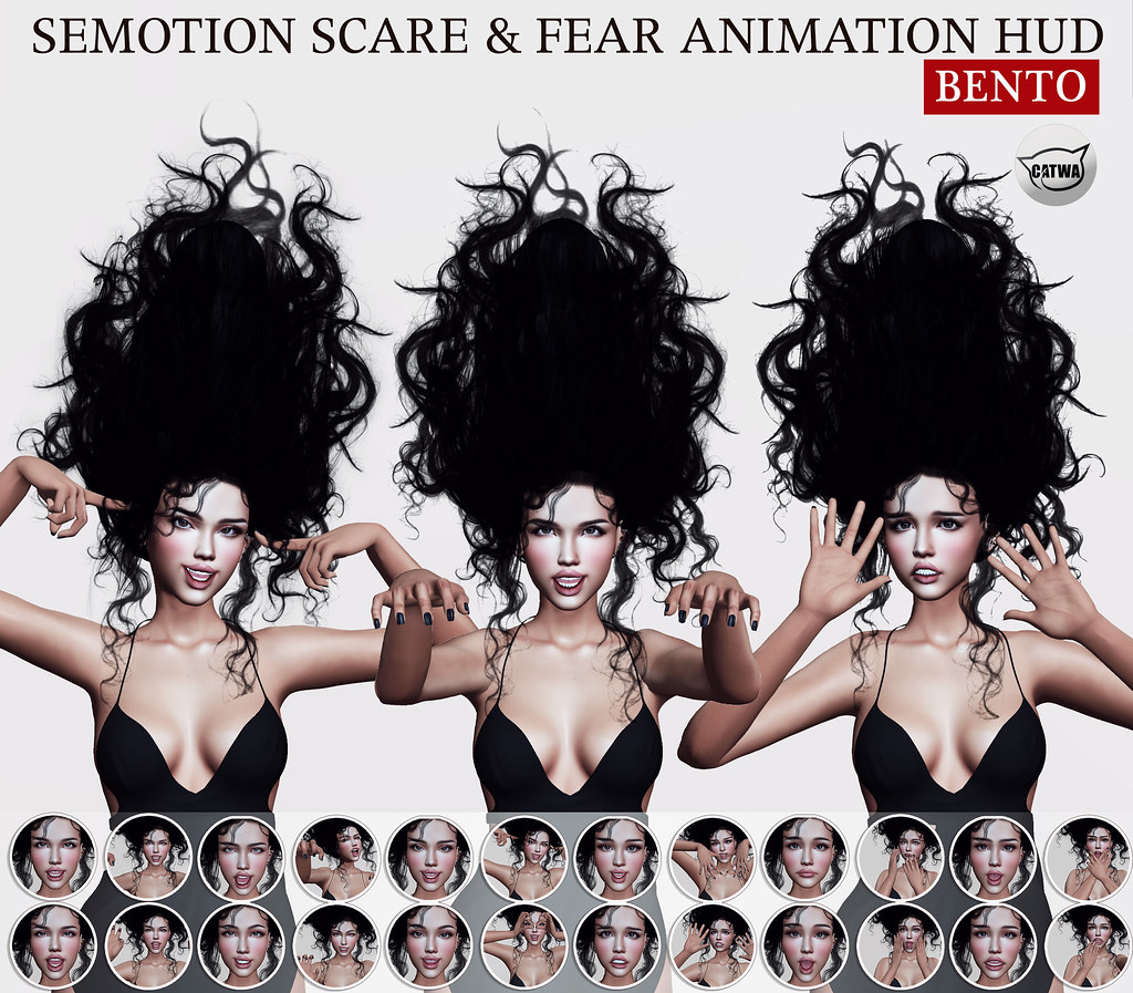 SEmotion Scare & Fear Animation HUD @ GachaLand