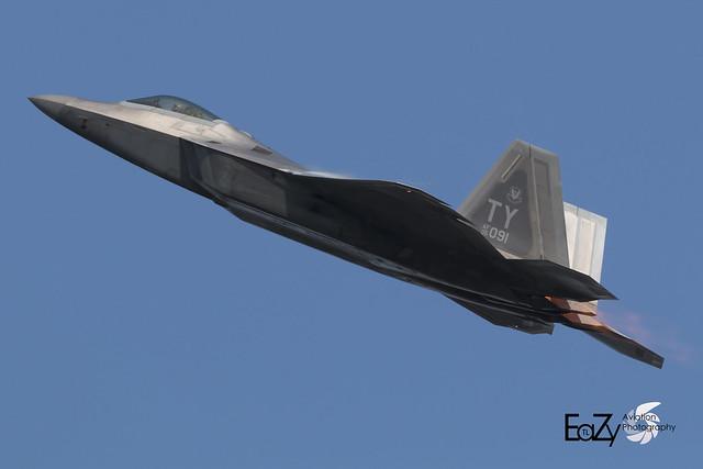 05-4091 United States Air Force Lockheed Martin F-22A Raptor