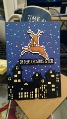 Oh deer ! Christmas card