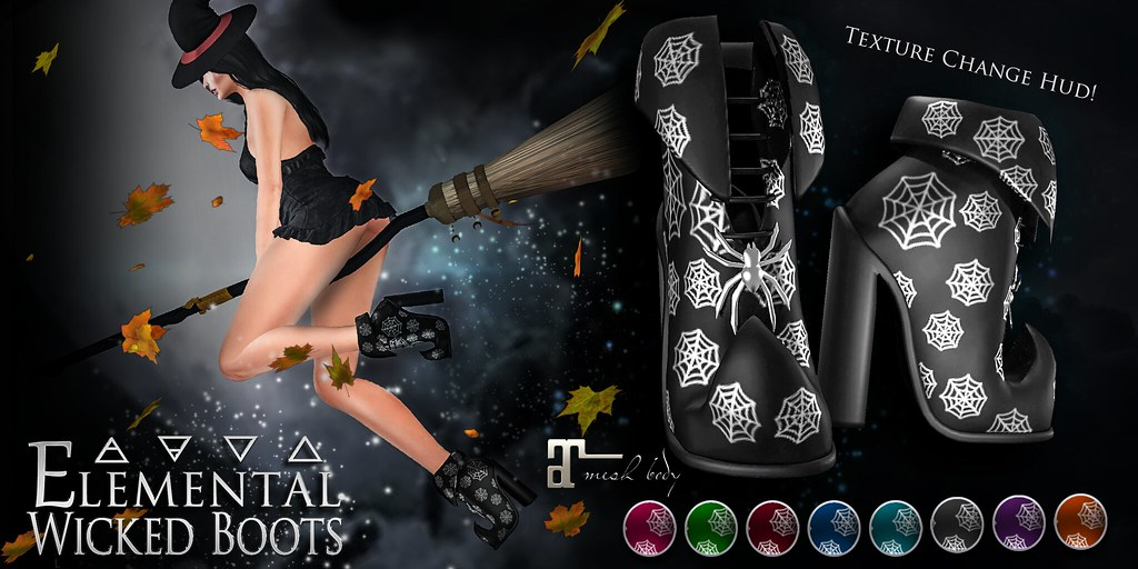 -Elemental- 'Wicked Boots' Advert