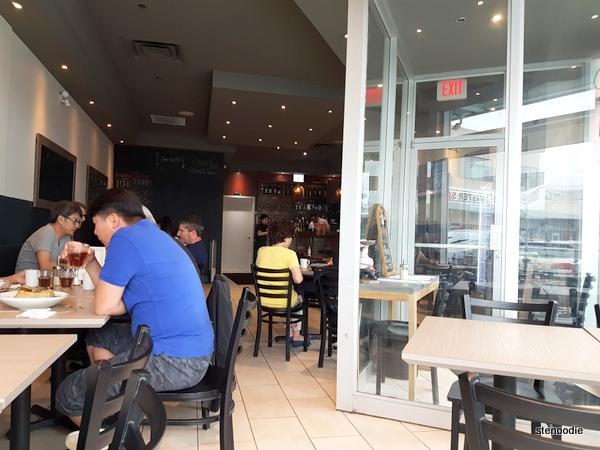 Fav Café + Bar interior