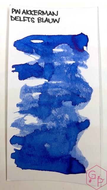 P.W. Akkerman Den Haag Delfts Blauw Ink 1