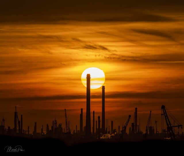 Another industrial Sunset
