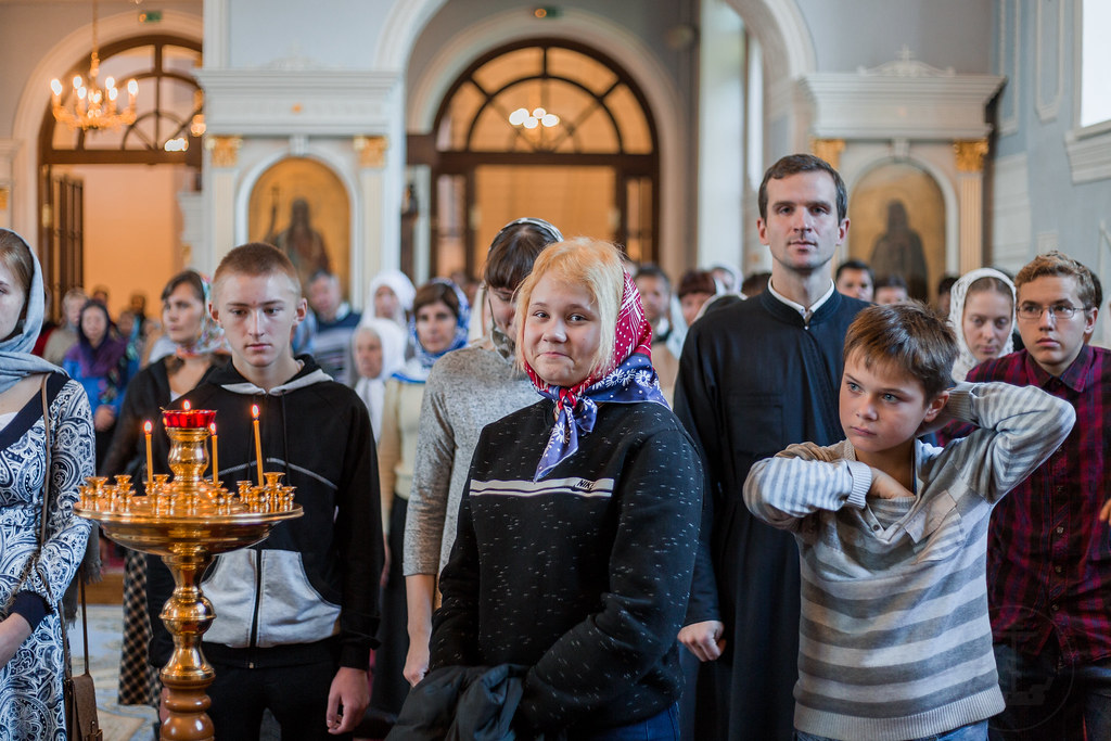 14 октября 2018, Покров Пресвятой Богородицы / 14 October 2018,the Protection of Our Most Holy Lady the Theotokos and Ever-Virgin Mary
