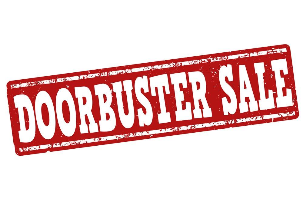 5. Doorbuster Sales