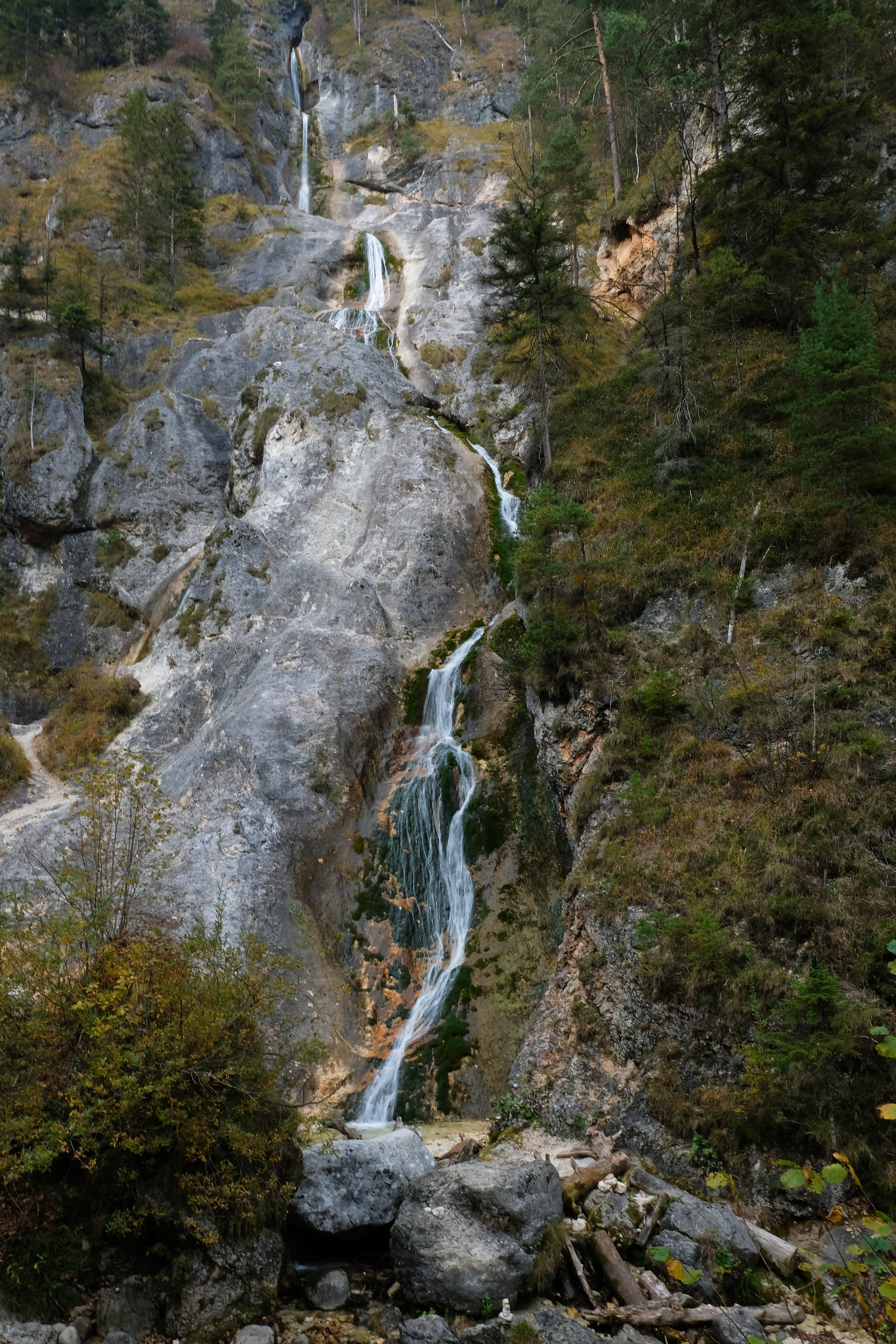 Almbachklamm, Bavaria, Germany