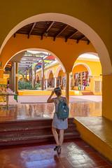 Inside market of Valladolid, Yucatan, Mexico