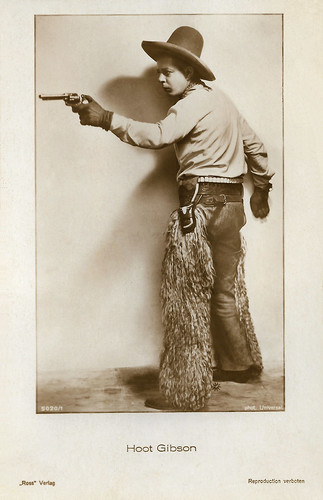 Hoot Gibson in The Galloping Kid (1922)