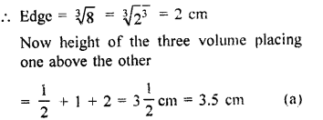 Surface Areas and Volume of a Cuboid and Cube With Solutions PDF RD Sharma Class 9 Solutions