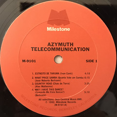 AZYMUTH:TELECOMMUNICATION(LABEL SIDE-A)