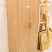 Lisbon 2 door wardrobe oak laminate E155