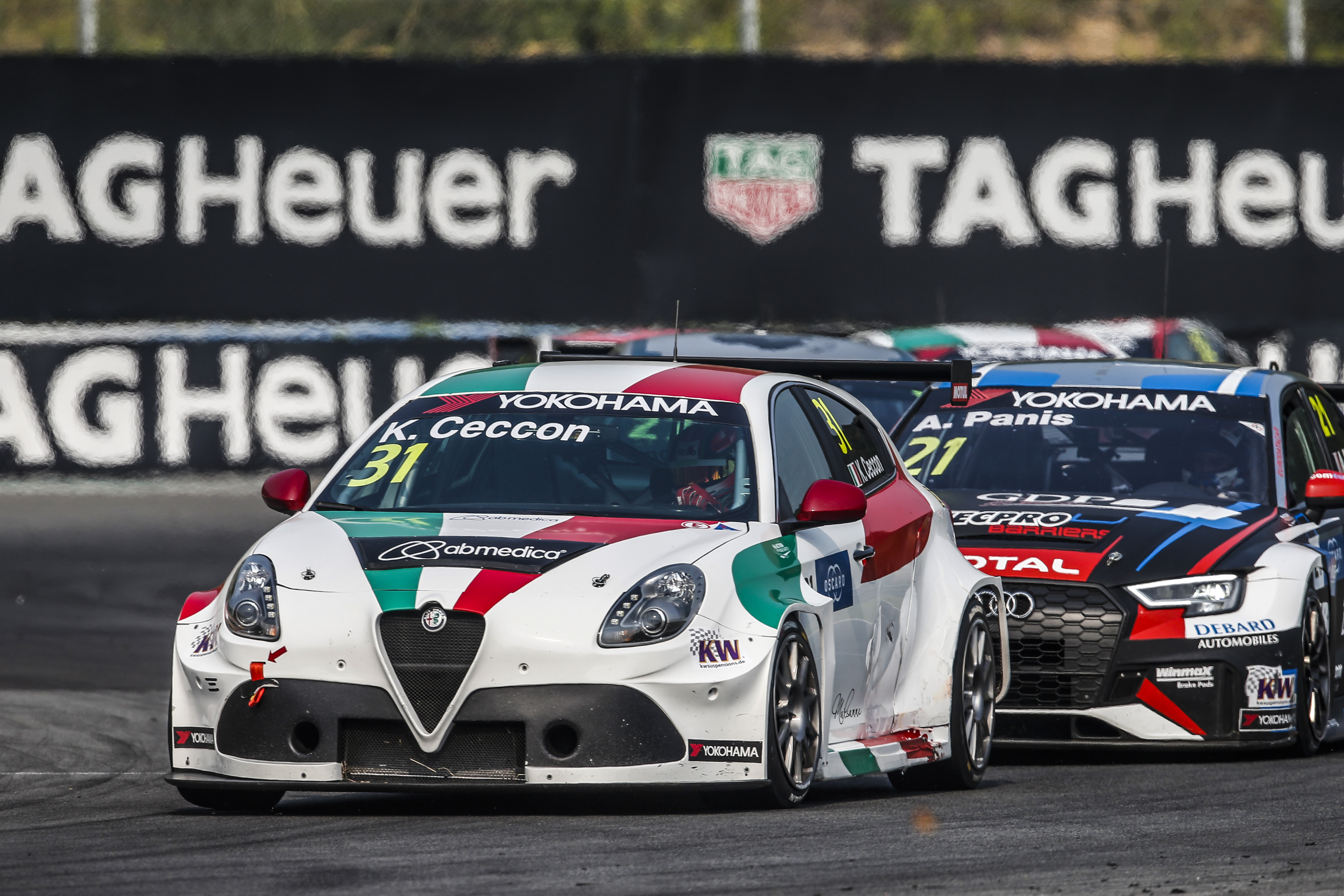 Qualifying form boosts Team Mulsanne Alfa Romeo WTCR squad