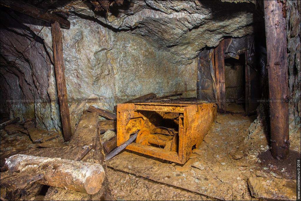 Ужасы заброшенной шахты