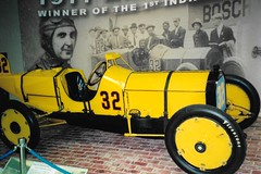 Winning Car of First Indy 500 in 1911, Indianapolis Motor Speedway