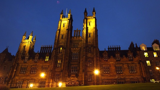Church of Scotland Assembly Building, autumn evening 01