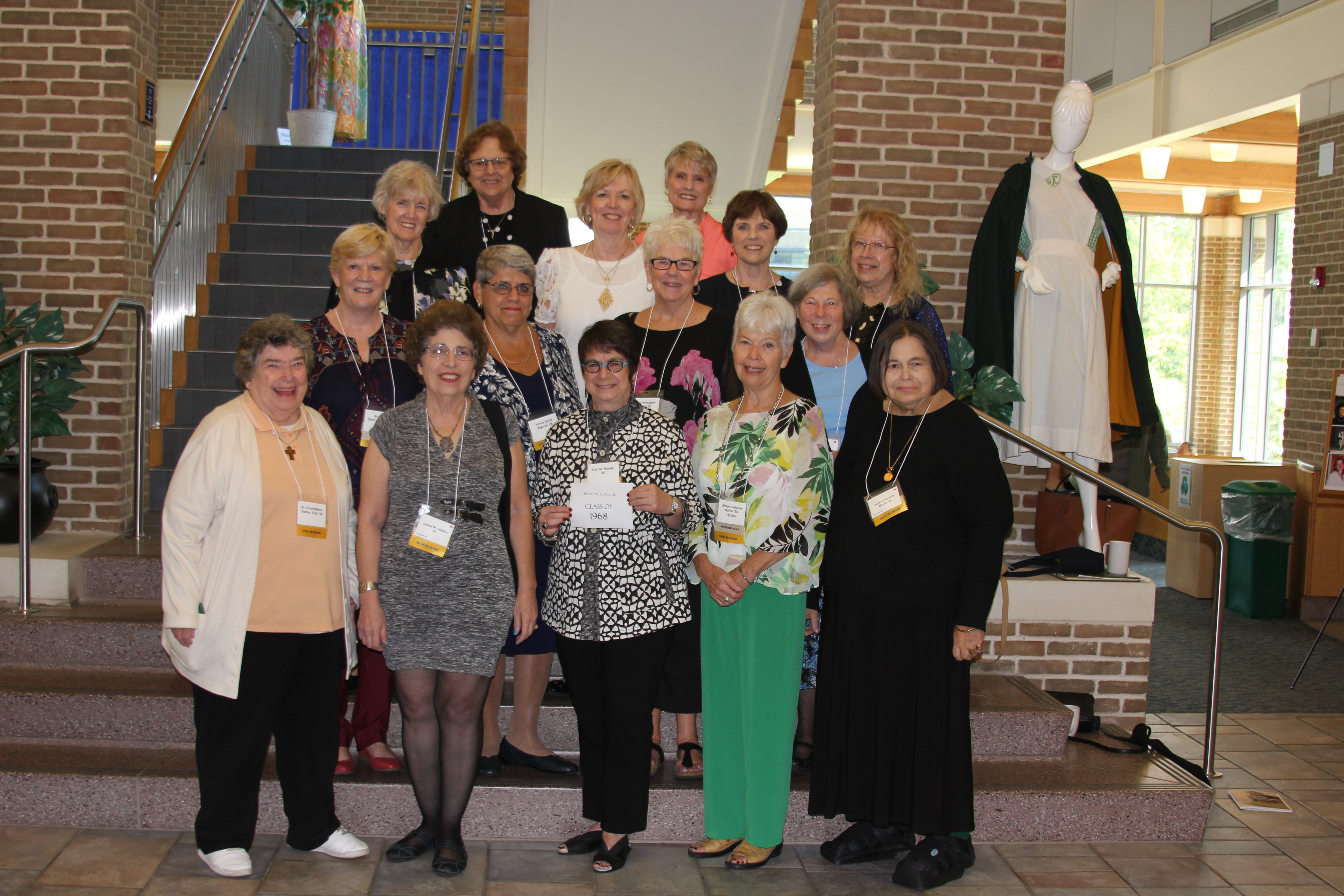 Ursuline College Class of 1968