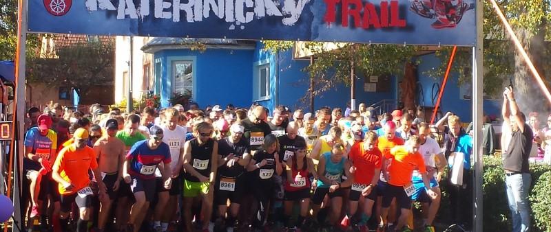 V Kateřinickém trailu závodili běžci až Prahy či Karlových Varů