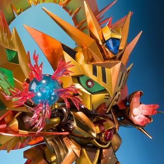 SDX《新SD鋼彈外傳 黃金神話》太陽騎士神鋼彈 明鏡止水金色版(太陽騎士ゴッドガンダム 明鏡止水ゴールドバージョン)【魂商店】