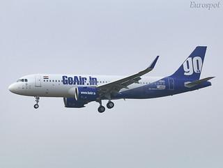 F-WWBM Airbus A320 Neo Go Air