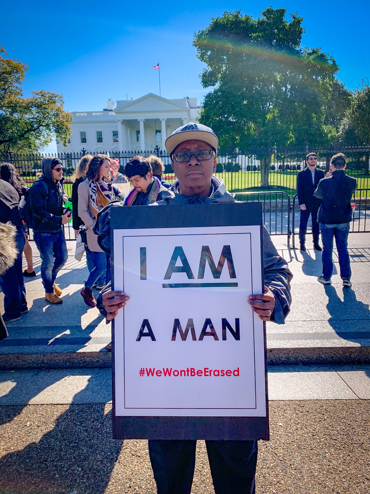 Photo Friday: I AM a MAN,  Living Authentically with Metabolic Health, in Washington, DC USA