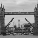 30/10/2018 - PDI. League 2. Open. Tower Bridge opens for Tall Ships Challenger Yachts by Elaine Robinson