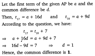 NCERT Solutions for Class 10 Maths Chapter 5 Arithmetic Progressions 33