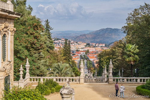 Lamego from the Terrace of the Sanctuary Church