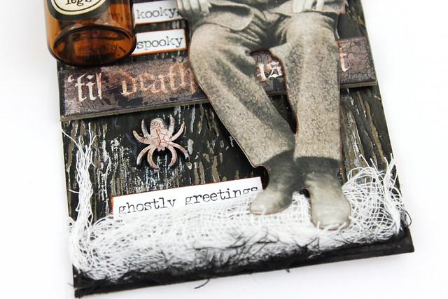 Meihsia Liu Simply Paper Crafts Mixed Media Tag Mono Halloween Tim Holtz Simon Says Stamp 4