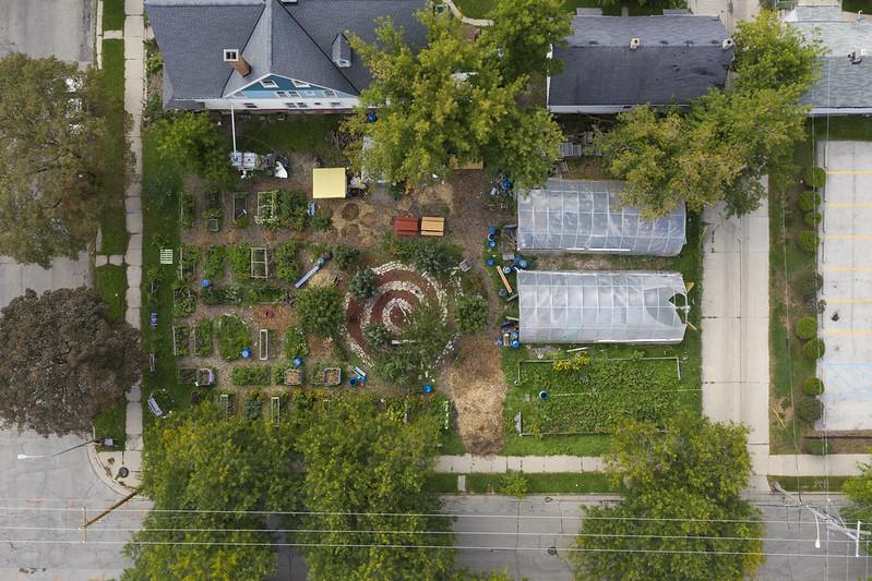Urban Farm Aerial