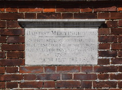 on this site stood the old meetinghouse which was opened for divine worship 1763