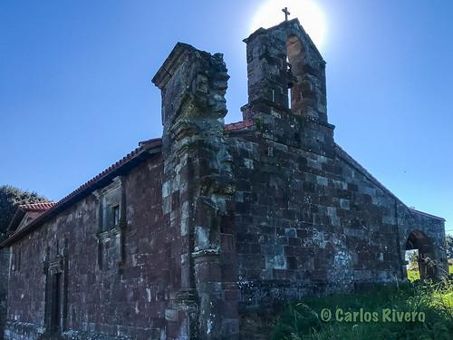 Iglesia de San Pantaleón, Piélagos, Cantabria.