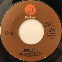 AL ALLEN & CO.:BALI HAI(LABEL SIDE-A)